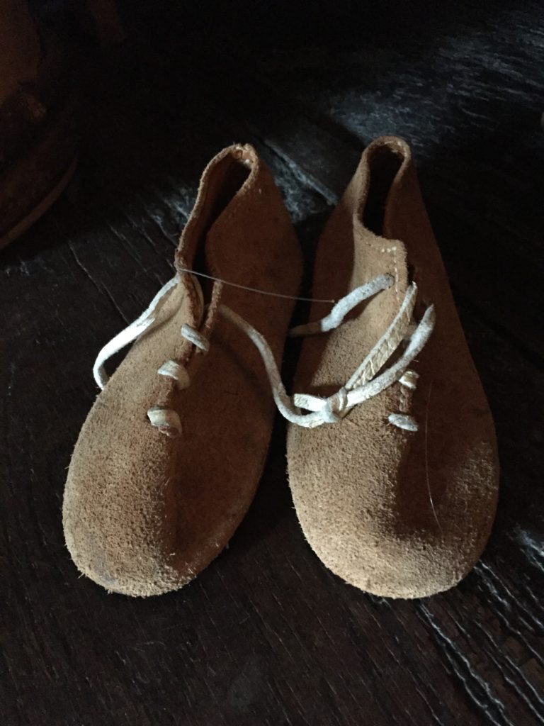 Shoes that baby Shakespeare would have worn.