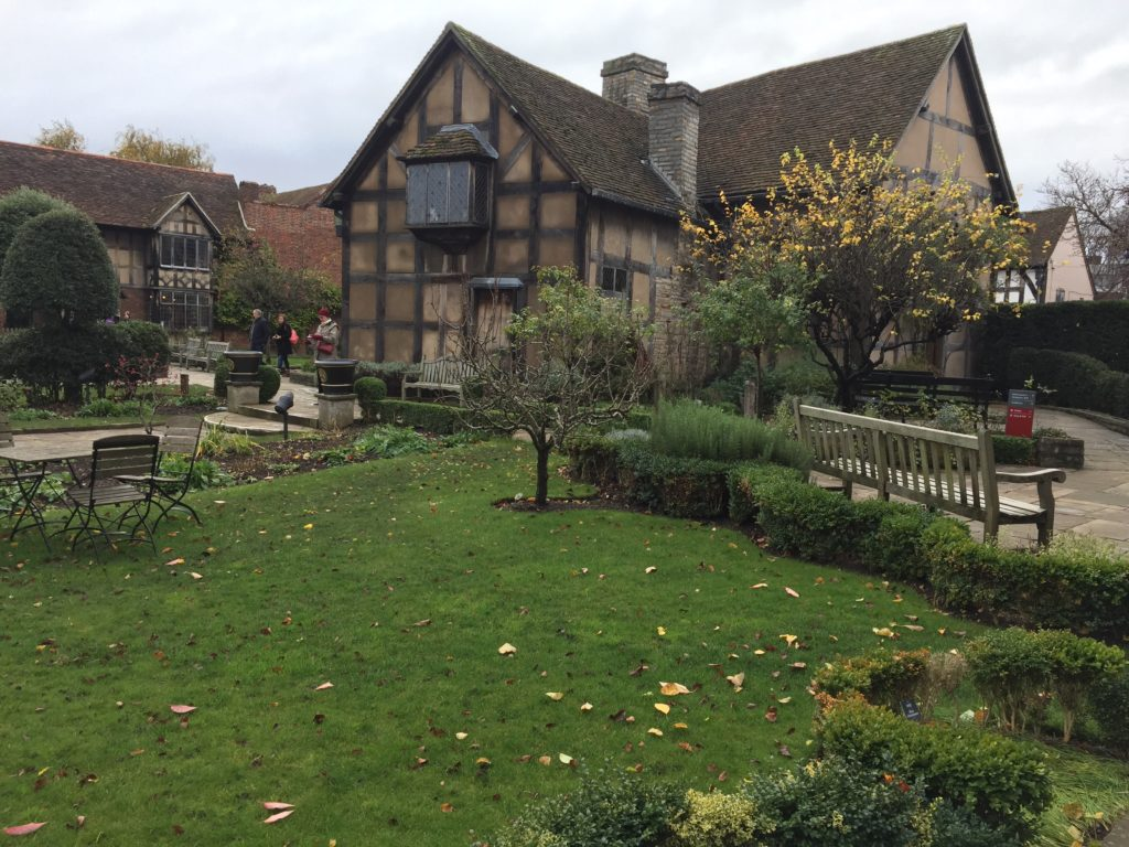 Shakespeare's childhood home in Stratford-upon-Avon
