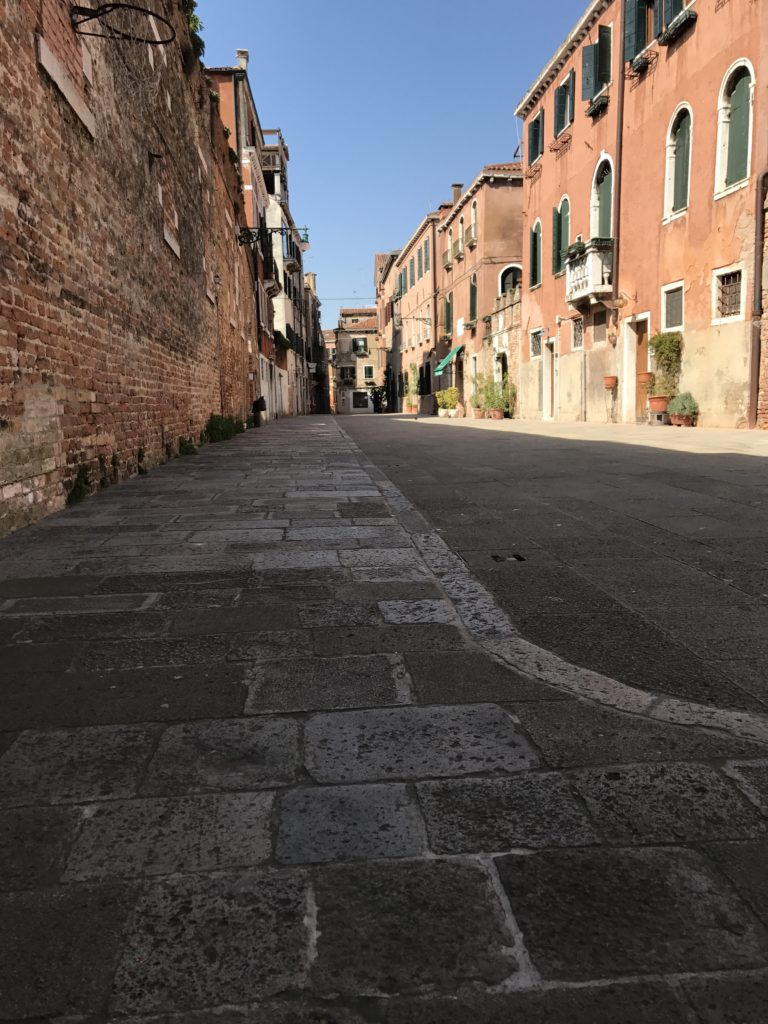 Nepolean covered many canals in Venice and converted them into streets.