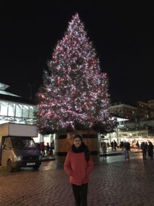 The lovely tree by Oxford street