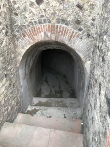 Possibly a cellar.