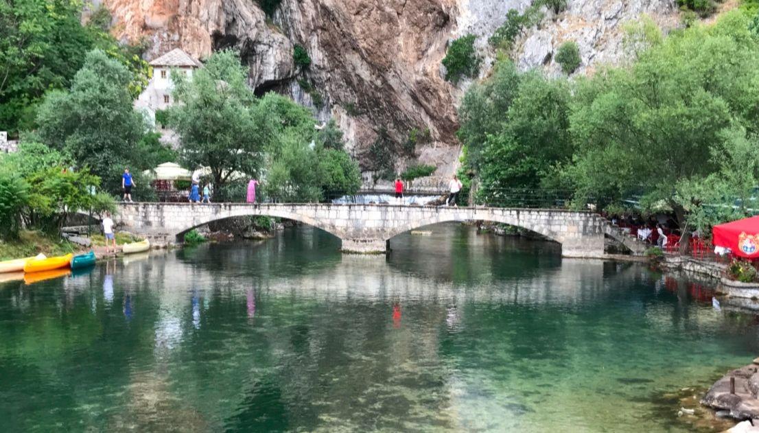 Blagaj on the Buna river