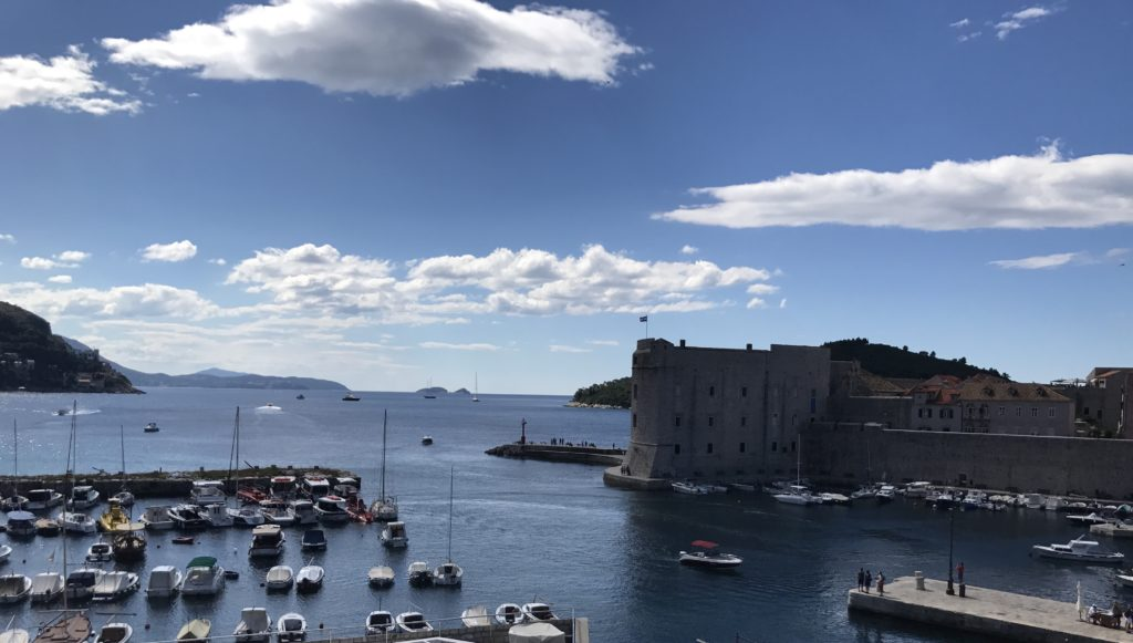 Back in the days when countries (like Venice) were being destroyed by plagues, Dubrovnik never had a plague largely because of their travel policy. Any newcomer to the port had to stay in the quarantine building for 40 days before entering the city, if they didn't show signs of sickness!