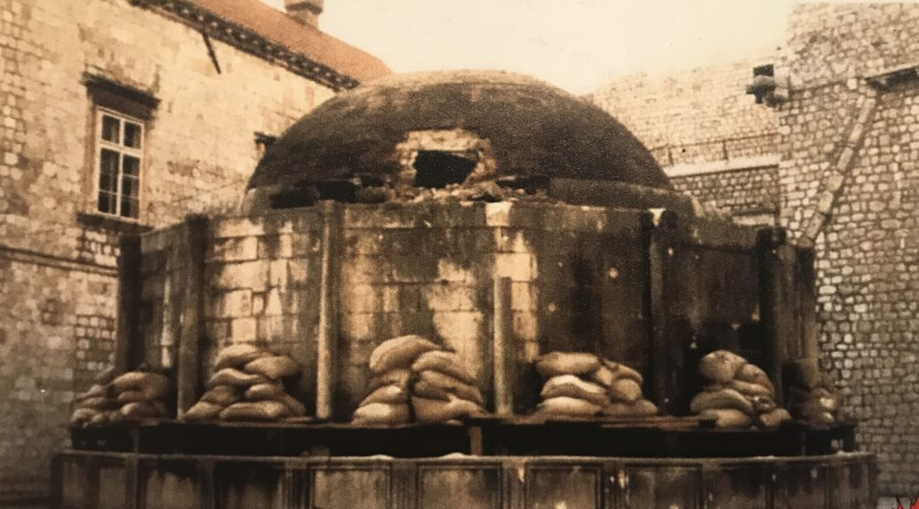 During the siege of 1991-92, it too was heavily damaged.