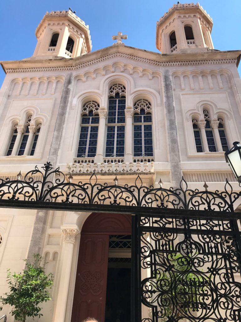 The only Serbian Orthodox Church in Dubrovnik