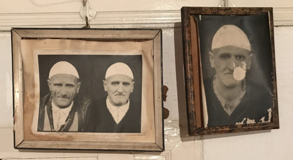 Pictures of our hosts' ancestors, displayed on the third floor.