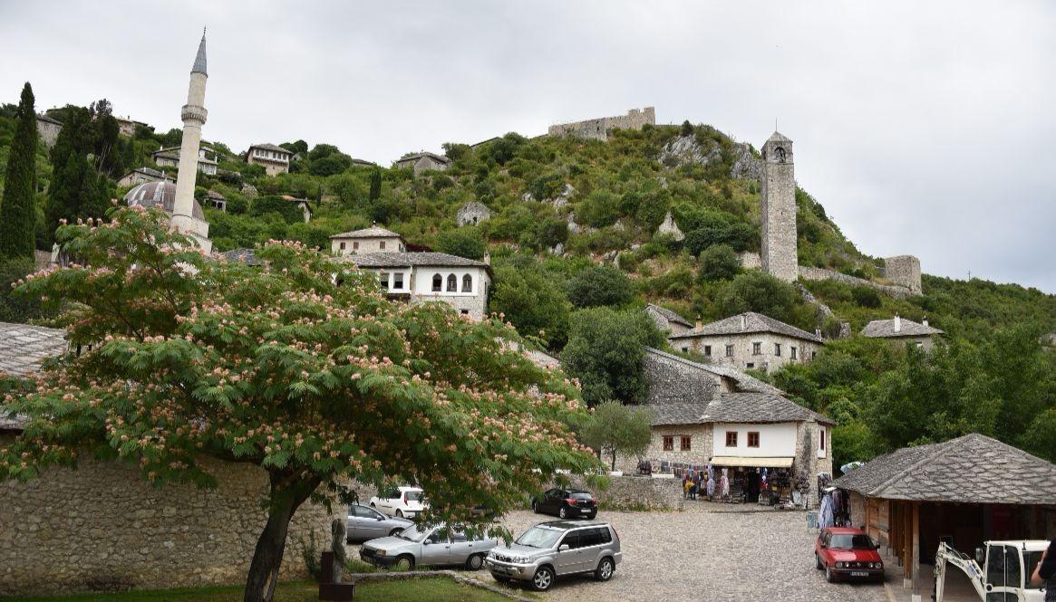 The olde medieval village of Pocitelj