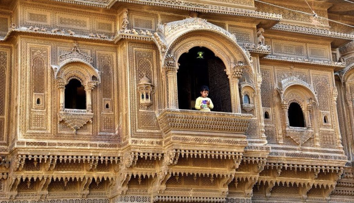Nathmal Haveli in Jaisalmer