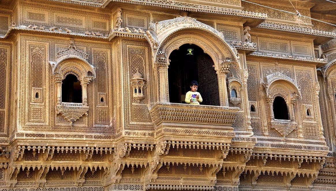 Nathmal Haveli in Jaisalmer
