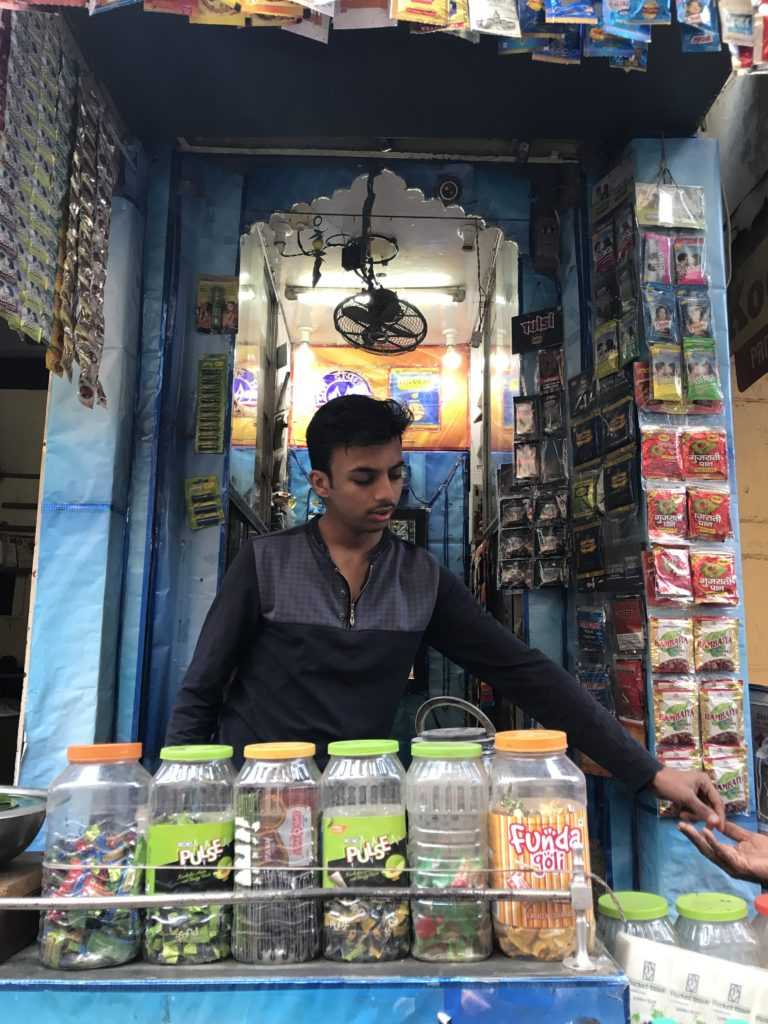 One of the many pan shops in Jaisalmer.