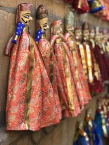 Dolls sold around Patwa Haveli and around town