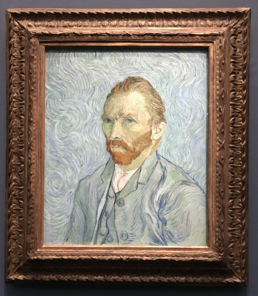 Vincent Van Gogh's self portrait
