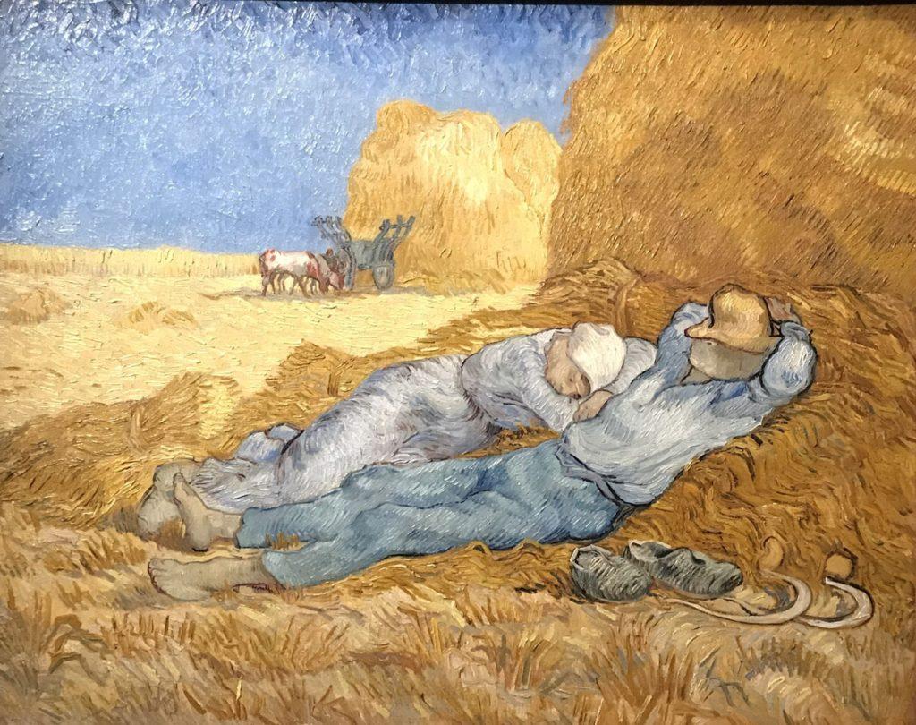 La Siesta by Van Gogh