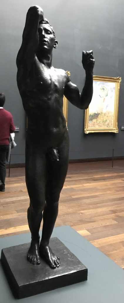 One of the many Rodin's people statues in d'Orsay.
