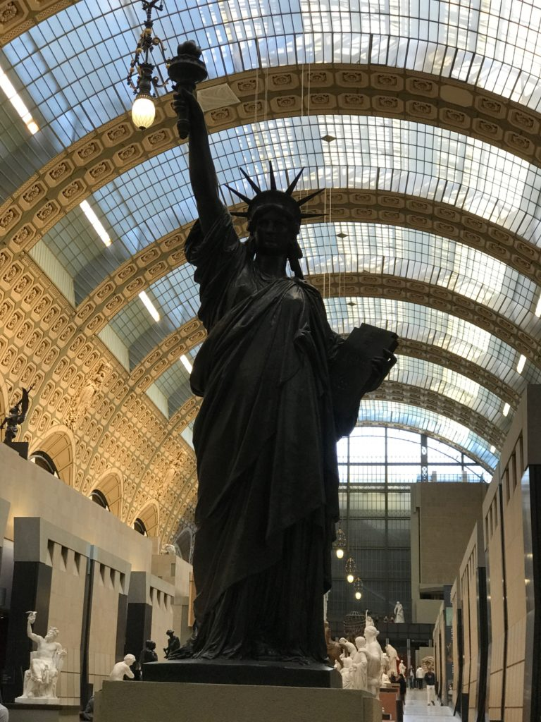 Statue of Liberty at Musèe d'Orsay