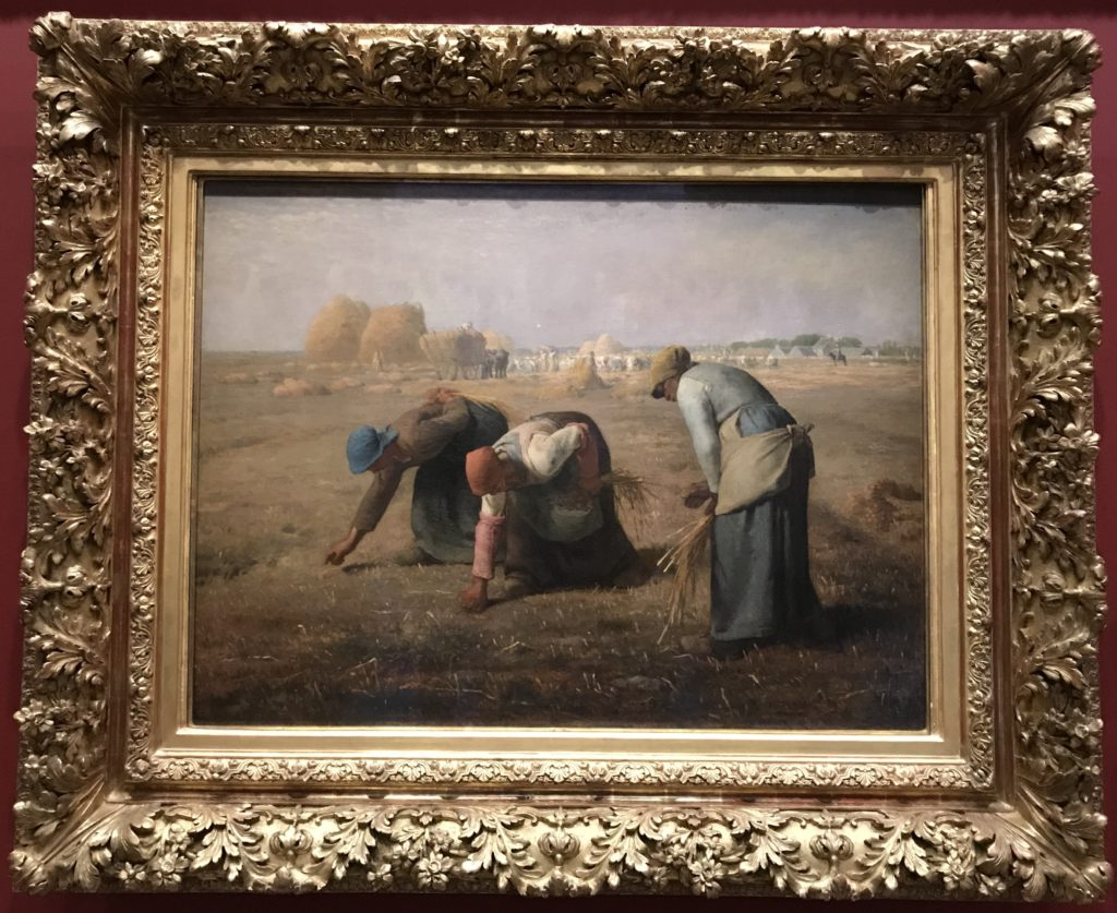The Gleaners - Oil painting by Jean-François Millet completed in 1857