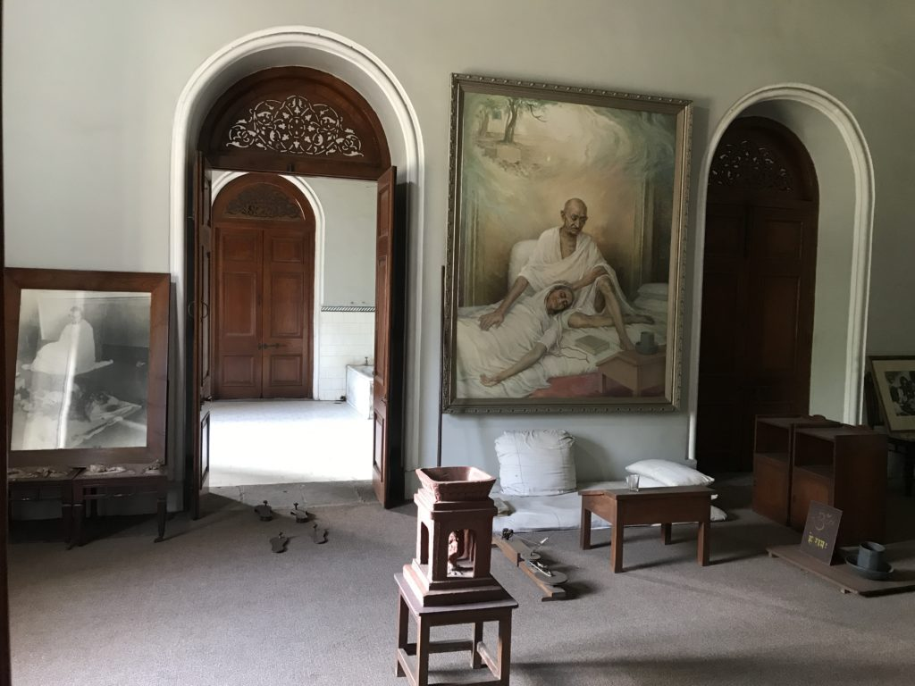 The room where Ba passed away, resting in Bapu's lap.
