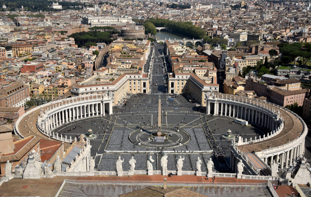 The immense Vatican