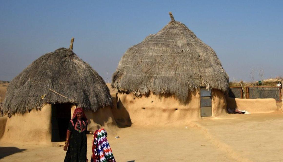 Village life in Jaisalmer