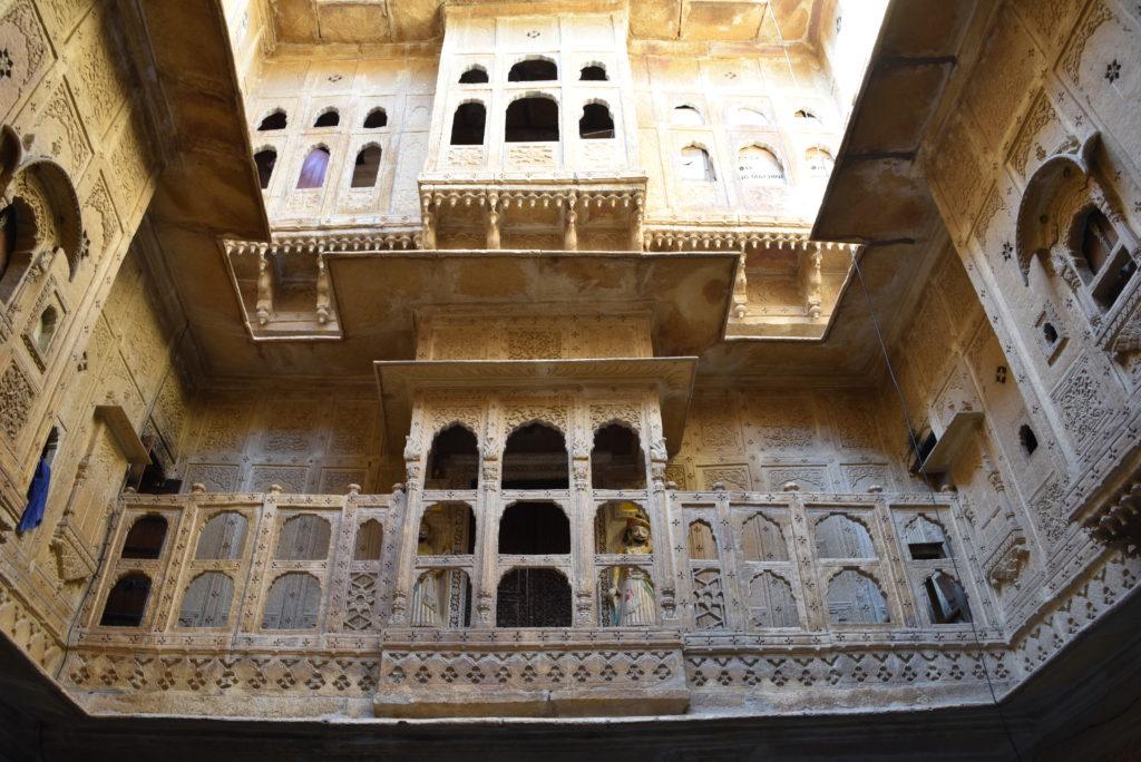 Nathmalji's Haveli's inside chowk.