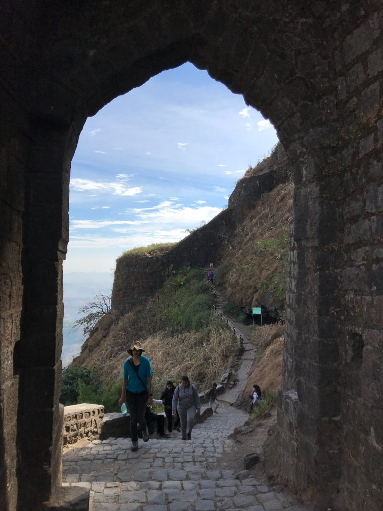 There are several gates to the fort, each with incredible views.
