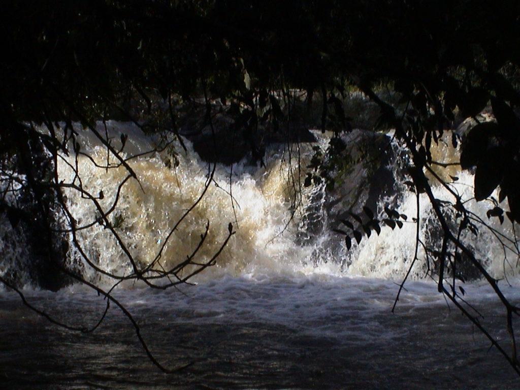 Kakamega falls in Kenya.