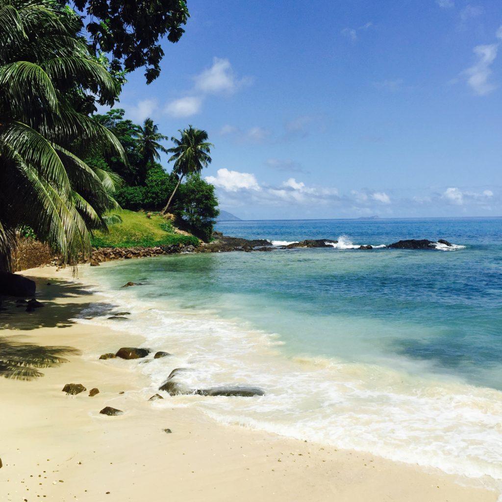 Seychelles's pristine beach