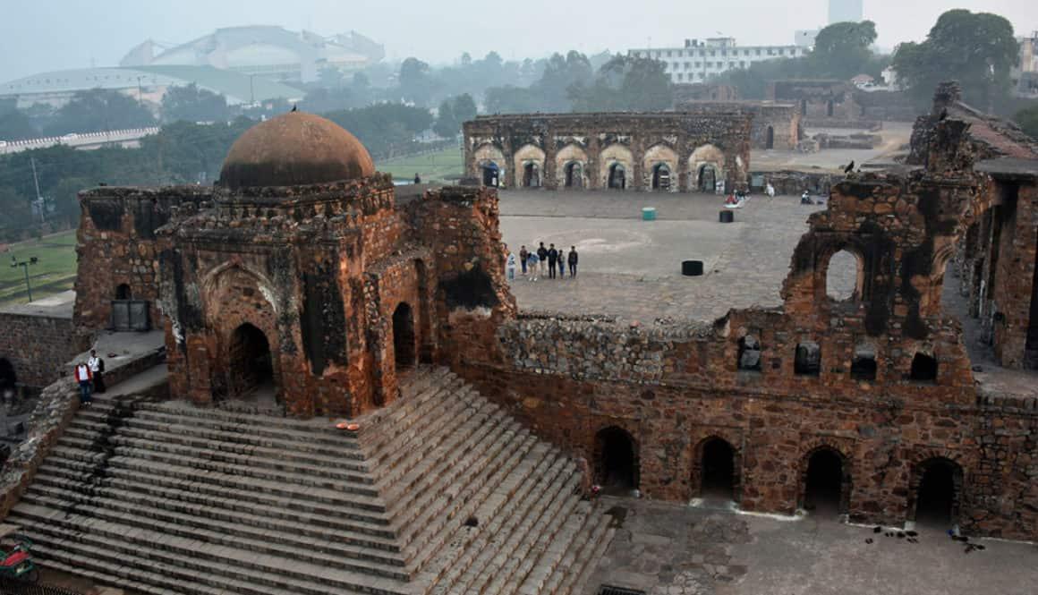 Jami Mazdi in Firoz Shah Kotla, Delhi