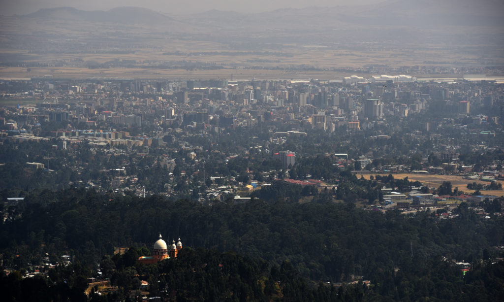Addis Ababa: Views of the city from the top of Mt Entoto