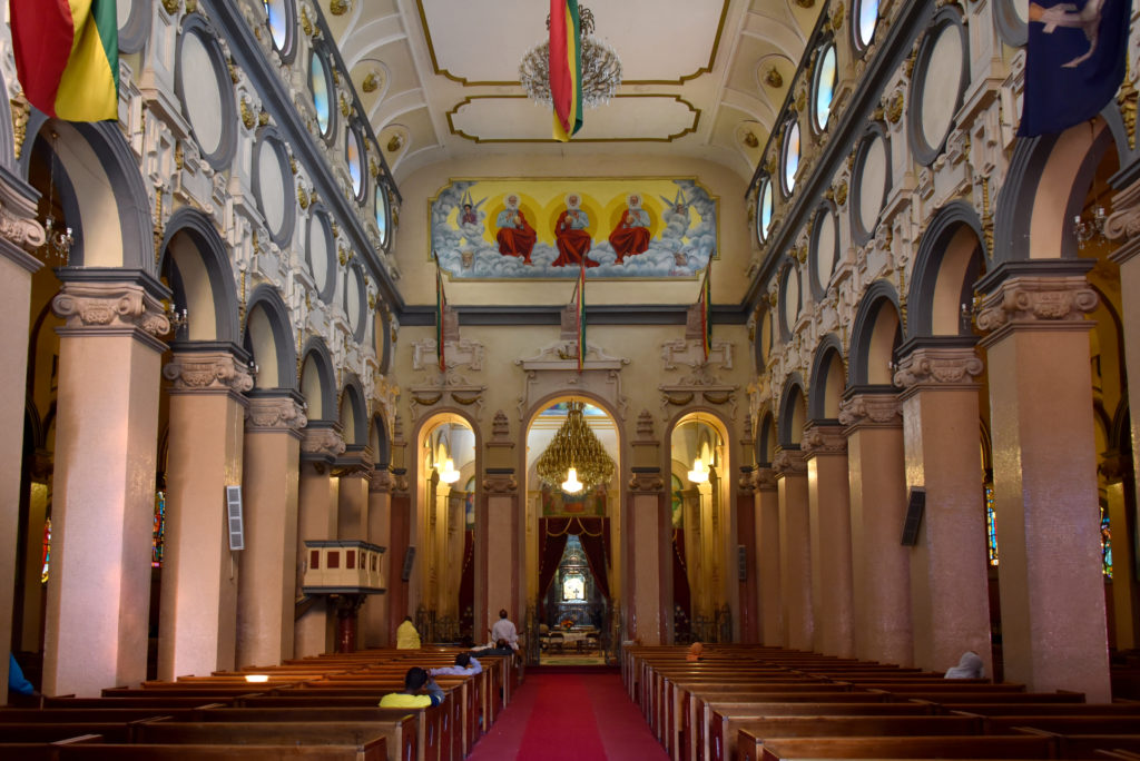 Addis Ababa: Ornate Interiors of the Holy Trinity Cathedral