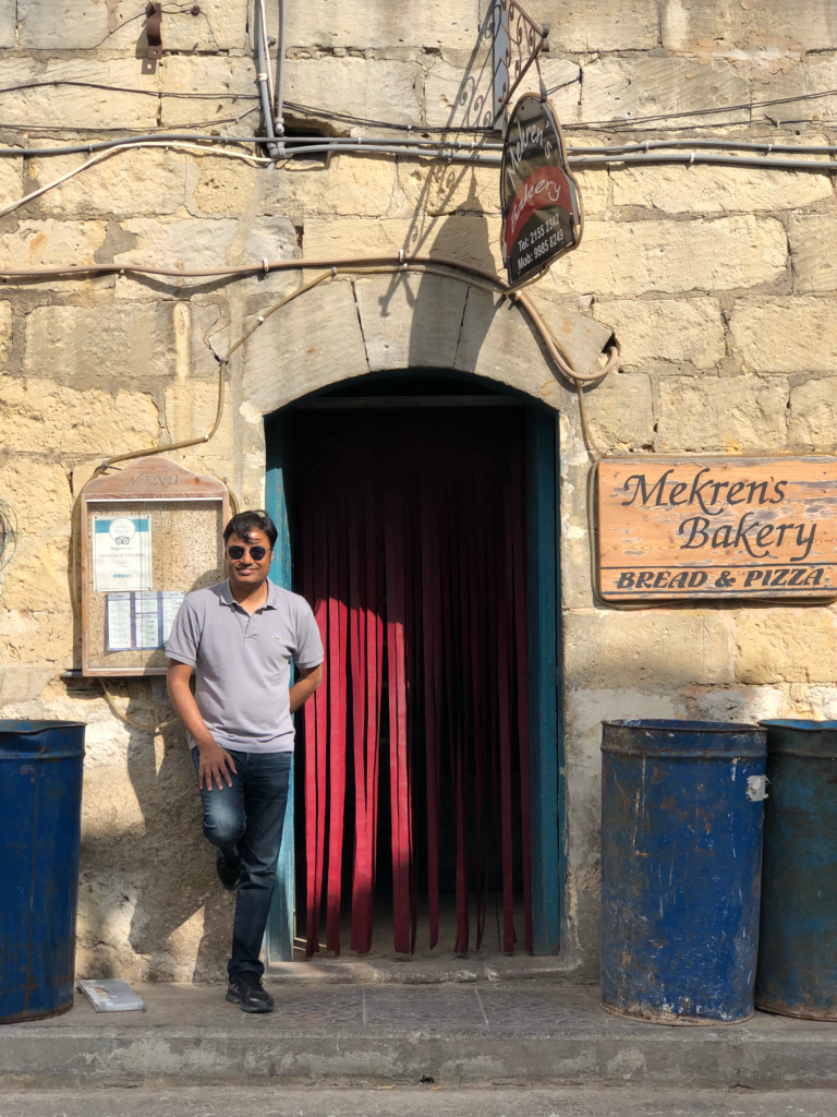 Mekren bakery in Gozo, definitely looks like a hole in the wall. Thank goddess for Apple Maps, we made it without a glitch.