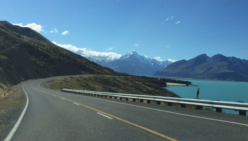 Road Trip to Mt Cook, New Zealand