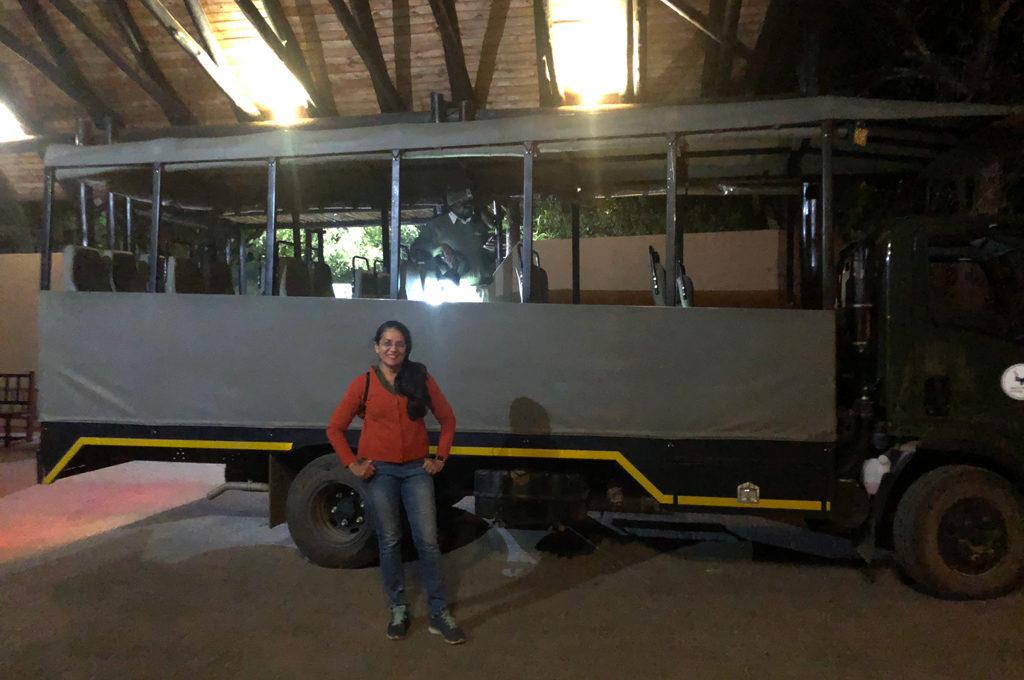 Kruger National Park Safari Truck for 3 of us.