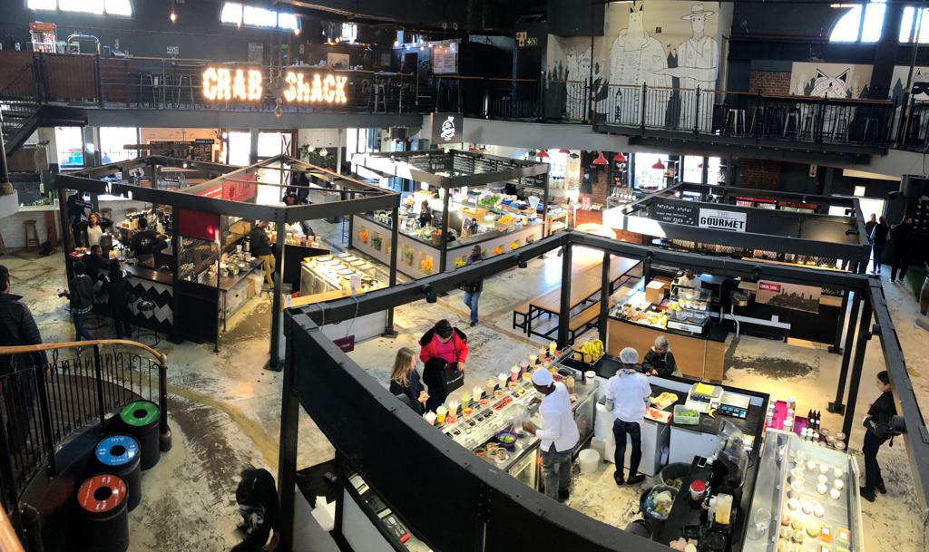 V&A Waterfront Food Market.