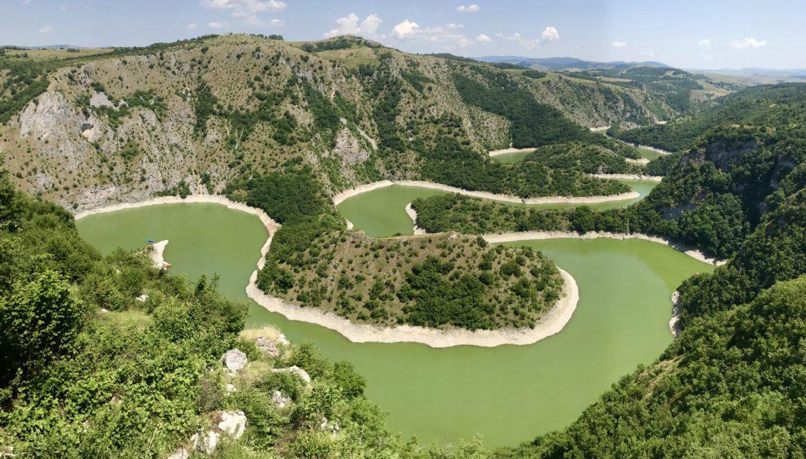Uvac Canyon reserve, Serbia