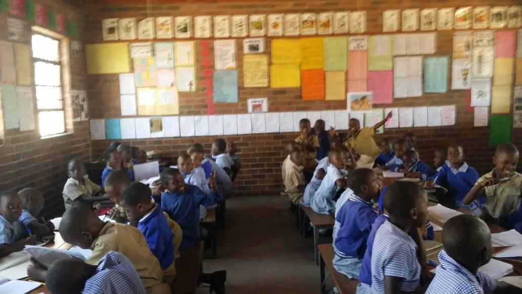 A Classroom in Zimbabwe
