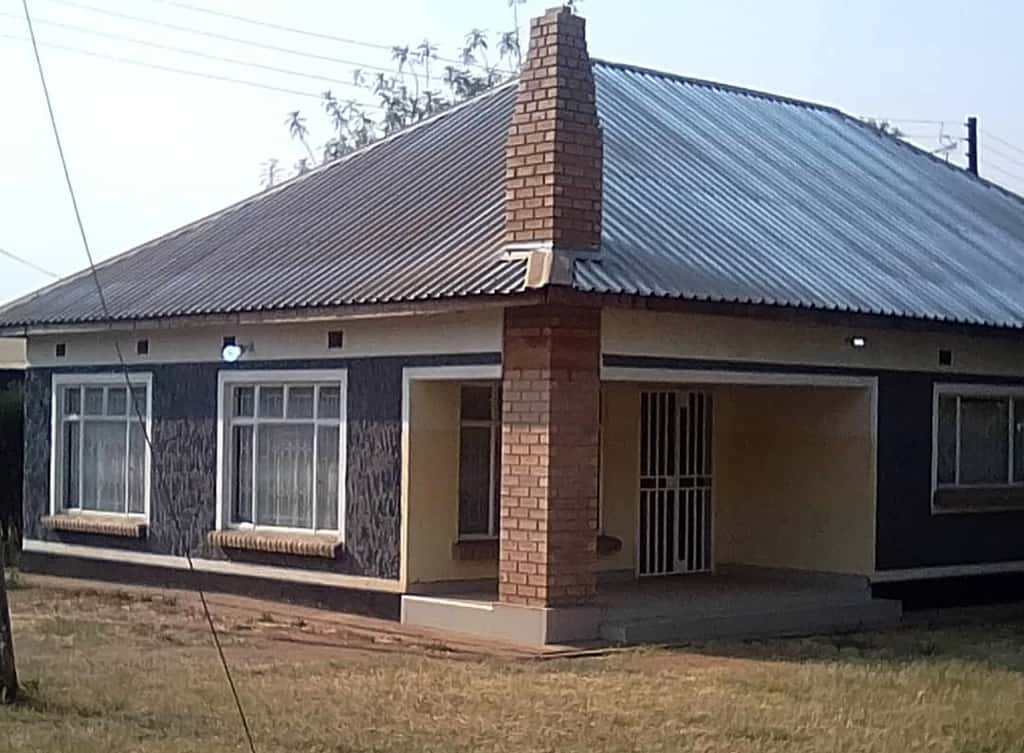A house that Physiwell and his team of Zambian entrepreneurs built.
