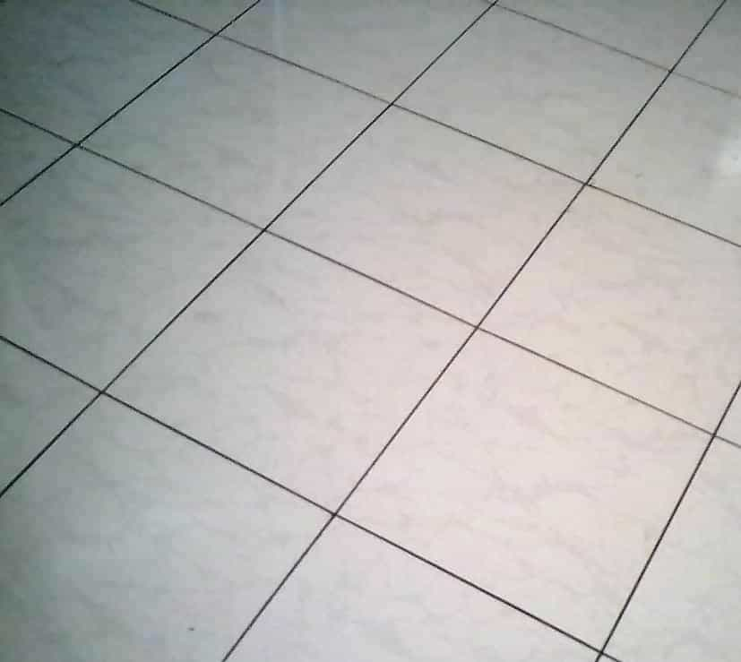 Tiles laid by Physiwell, a Zambian entrepreneur