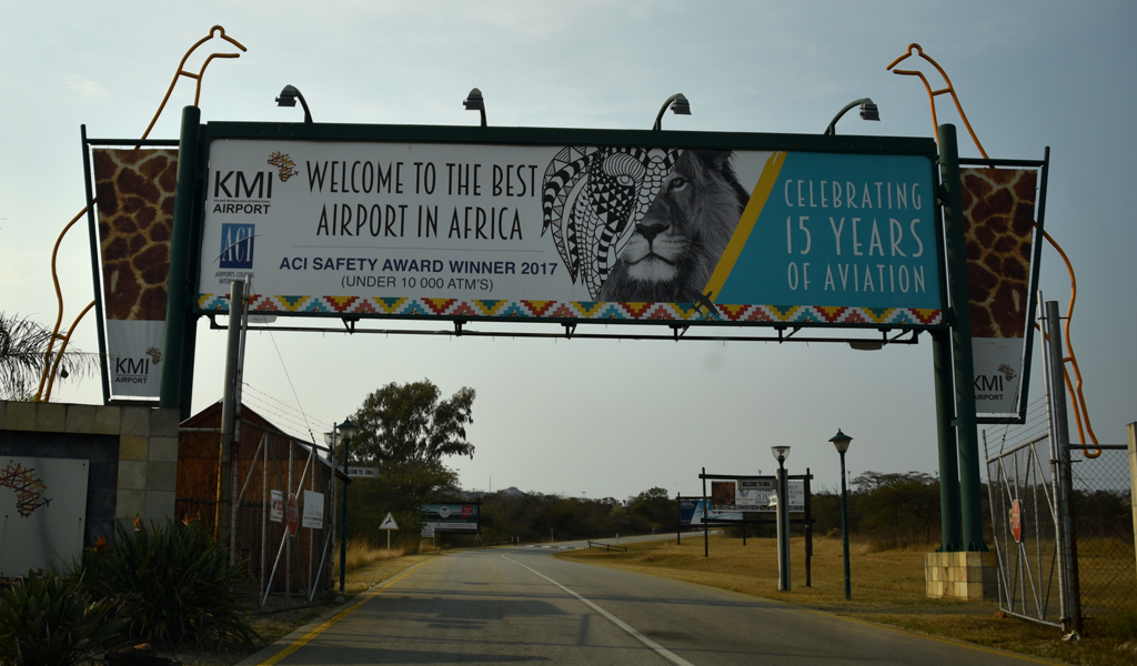 Mpumalanga Airport for Kruger National Park, not really the best airport in Africa.
