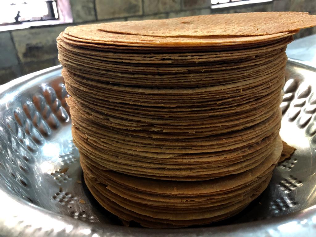 Khankra, a delicious crisp bread.
