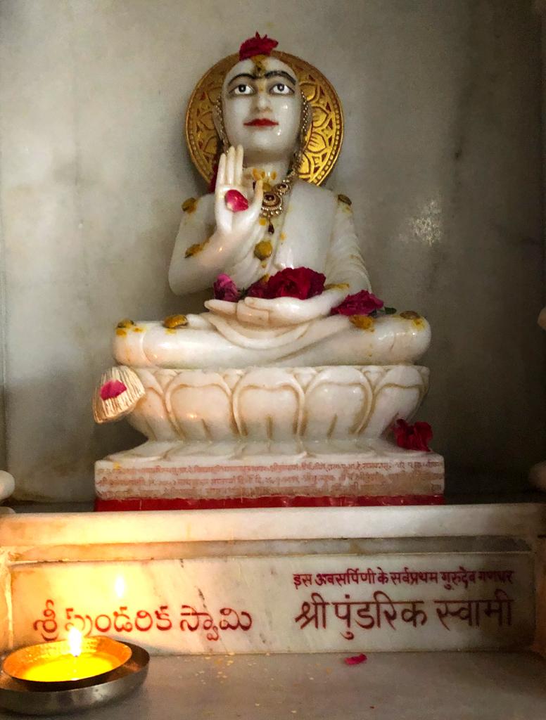Pudrik swami's statue in Kulpakji temple