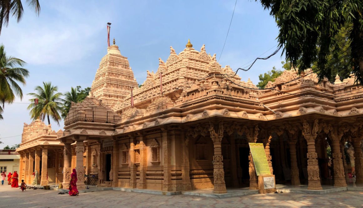 Kulpakji Jain temple near Hyderabad