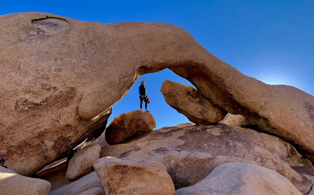 The Arch in Joshua Tree National Park