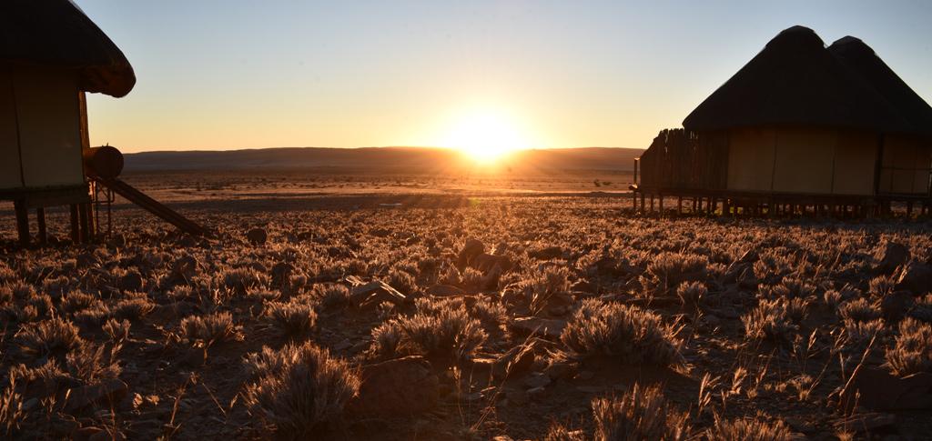 Sunset from Sossue Dune Lodge