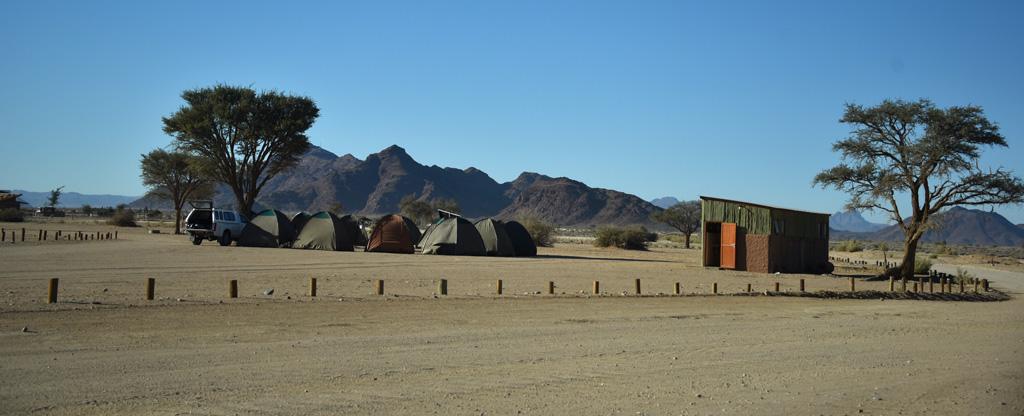 Namib-Naukluft National Park Campsite at Sesriem.