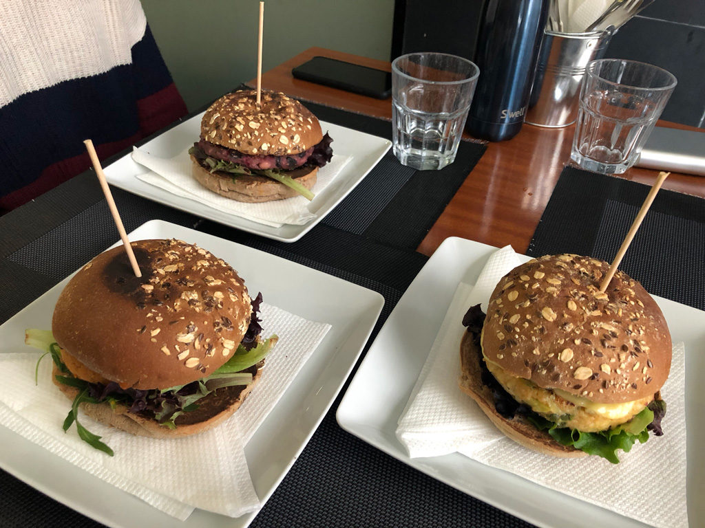 Black Mamba is a spacious vegan burger restaurant in Porto, Portugal.