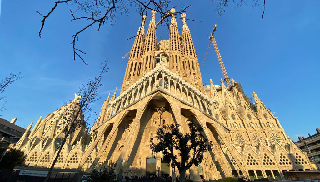 La Sagrada Familia A Barcelona Landmark In Pictures Story At Every Corner